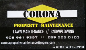 SNOW REMOVAL SERVICE-CORONA PROPERTY MAINTENANCE