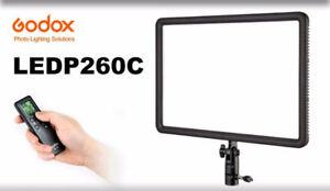 GODOX  LEDP 120 C  LARGE  VIDEO LED LIGHT  (WITH POWER SUPPLY