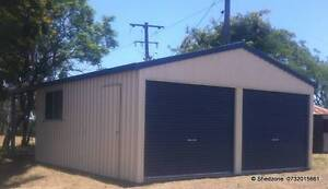 6m x 6m x 2.4m Shed LOW PRICES Beaudesert Ipswich South Preview