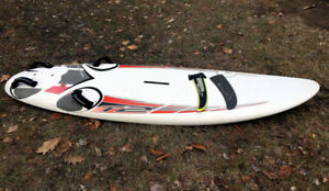 Planche A Voile,- Bic Techno T2 - 148ltrs, with footstraps, fin.