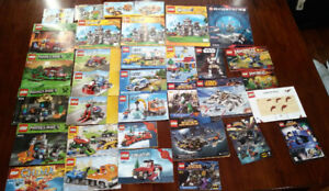 LEGO (over 6,200 pieces) - 31 Manuals included