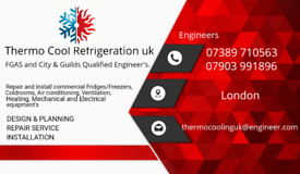 Air conditioning and commercial fridge/freezer repairs and install