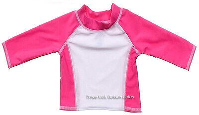 CLEARANCE~Baby /Infant Toddler Boys Girls Swim Top~Long Sleeve Rashguard~UPF 50+](Toddler Clearance)