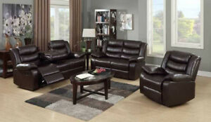 BLACK FRIDAY - RECLINING 3 PIECE SOFA SET - FREE DELIVERY!