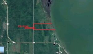 Lake front 1/4 Sections for sale, Sale Pending - S.T.C