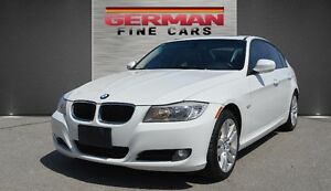 2011 BMW 323I Executive PKG**ACCIDENT FREE**WHITE ON BLACK