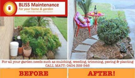 Bliss Maintenance Gardening
