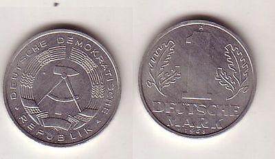 1 Mark Aluminium Münze DDR 1963 vorzügliche Erhaltung (110324)