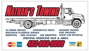 Nathan's Towing FREE Scrap Car Recycling