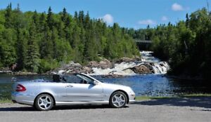 Mercedes CLK 550 Convertible SUPER CLEAN & LOW kms