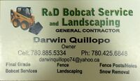 Contractor landscaping