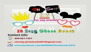 Oh SNAP Photobooth - SNAPtastic Photo Booth for any events! Oakville / Halton Region Toronto (GTA) image 1