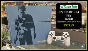 King of Trade - Uncharted 4 PS4 System