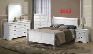 8 PC BEDROOM SET ONLY 999