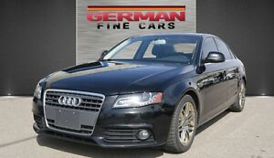 2009 AUDI A4 2.0T QUATTRO PREMIUM***ACCIDENTS FREE