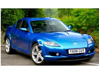 Stunning blue mazda rx8. 231. No issues hot or cold.