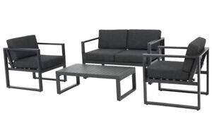 4 Piece outdoor Sofa Set with Cushions RRP $1,300