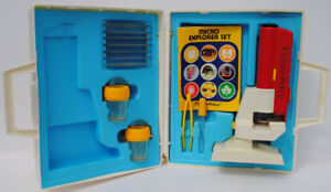Vintage Fisher Price Micro Explorer Set#3005