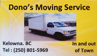Dono's Moving Service