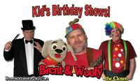 Kid's Birthday Shows - live entertainment