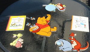 Winnie the Pooh Wall Hanging & choice of book