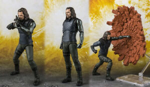 S.H Figuarts Avengers Infinity War  Bucky Action Figure in store