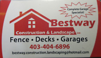 BESTWAY CONSTRUCTION AND LANDSCAPING LTD. 4034046896