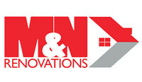 Need someone to repair,build or fix it. Call M&N Renovations