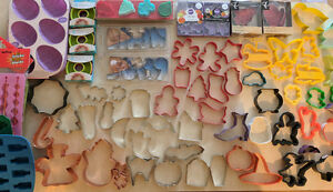 Cookie cutters and other bakeware