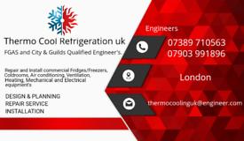 Commercial fridge/freezer repairs and coldroom installs