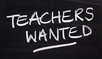 Wanted: English Tutors