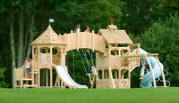 Custom built playhouses,sheds, and playsets
