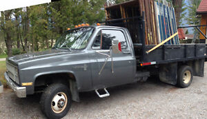 1982 Chevrolet 1 ton 4 x 4 Truck, great condition.