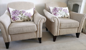 X2 Laura Ashley Armchairs