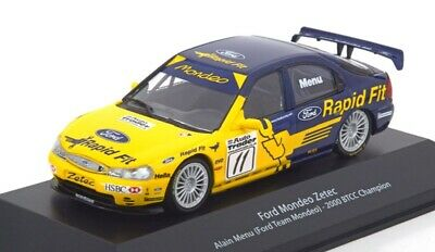 Ford Mondeo Zetec Alain Menu 2000 BTCC coche 1:43 Atlas Diecast