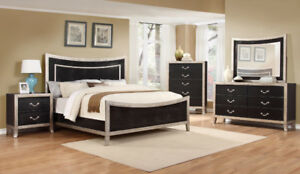 FACTORY DIRECT BEDROOM SET - BRAND NEW 5 PCS