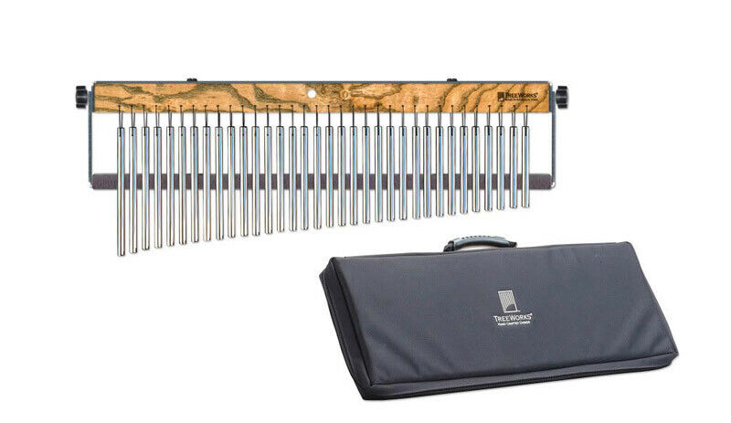 TreeWorks Fullsize 34-Bar Chime with Damper and Deluxe Bag (NEW)