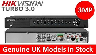 HIKVISION TURBO HD 3.0 DVR DS-7204HUHI-F1/N PROFESSIONAL 4 CHANNEL DVR RECORDER