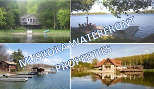 Waterfront Cottages in Muskoka - FREE List