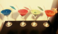 Handmade cocktail glass party candles for Sale!