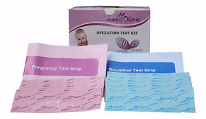 50 Ovulation (LH) and 10 Pregnancy (HCG) Test Strips