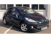Peugeot 207 SPORTIUM (black) 2012
