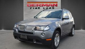2009 BMW X3 3.0I AWD Executive PKG**ONLY 108,000KM ACCIDENT FREE