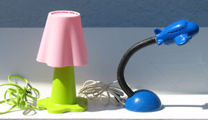 Flower Lamp or Airplane Lamp for kids