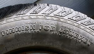 Set of THREE  All Season M&S 15 inch tires Comox / Courtenay / Cumberland Comox Valley Area image 4