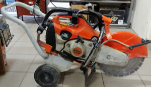 Stihl TS420 with cart