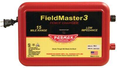 Parmak Vm3fm3 Electric Fence Charger 110120 V 0.99 To 2.5 J 15 Mile 4338810