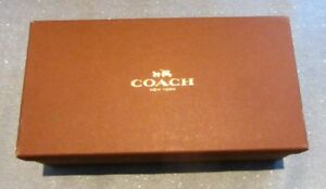 AUTHENTIC COACH GIFT SHOE BOX DECORATIVE ORGANIZER CLOSET
