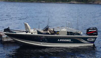 Legend Fishing Boat  with 50HP Merc. 4 stroke... Excellent  !!!