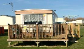 6 berth 3 bed caravan,ingoldmells,Dog Friendly, 28th aug 4th sept £350